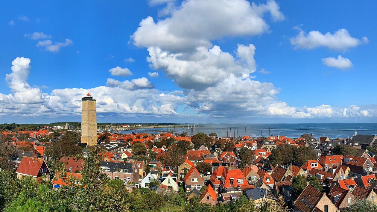 Het dorp West Terschelling